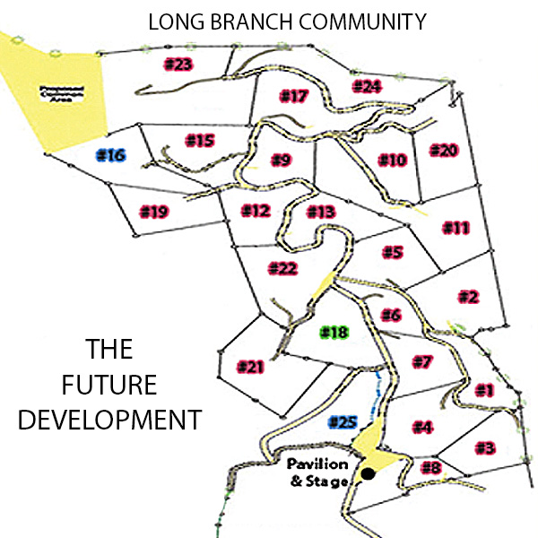 Long Branch Estates Map