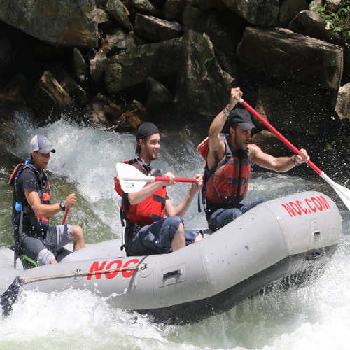 River rapids fun